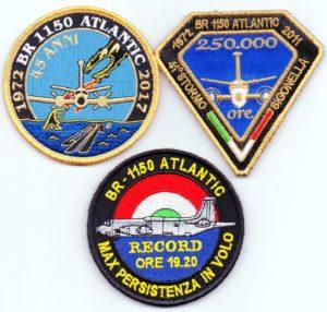 """Distintivi commemorativi per il BREGUET 1150 """"ATLANTIC"""""""