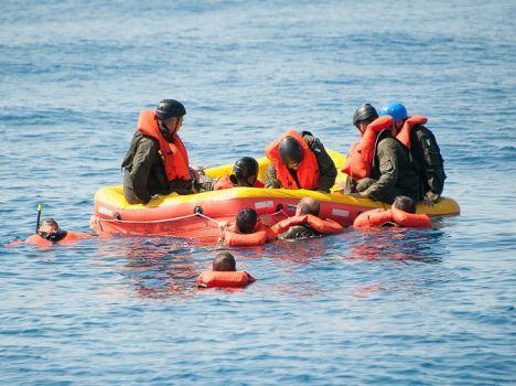 41°Stormo – l'Aeronautica Militare si addestra per la sopravvivenza in mare