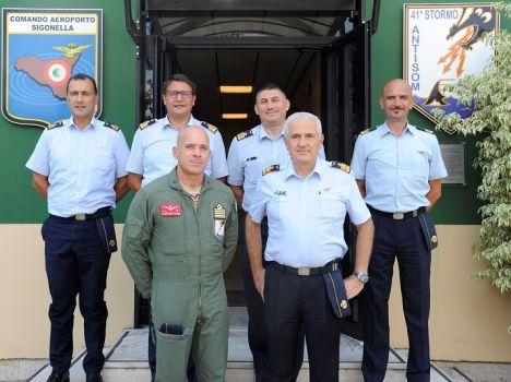 41° Stormo – Il Direttore della DIPMA in visita al 41° Stormo e all'Aeroporto di Sigonella
