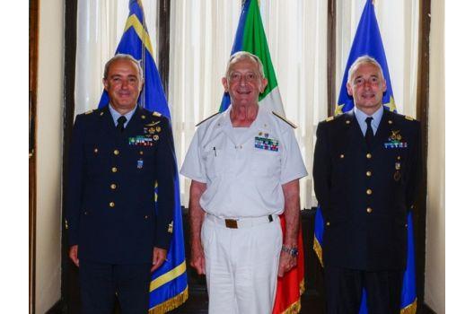 41° Stormo – Cambio dell'Ispettore dell'Aviazione per la Marina