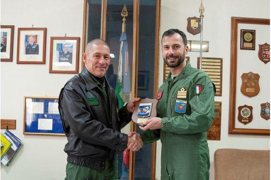 41° Stormo – Al Comando Aeroporto di Sigonella la visita del Comandante della Squadra Aerea