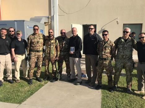 41° Stormo – Force Protection: a Sigonella addestramento congiunto tra personale italiano e straniero