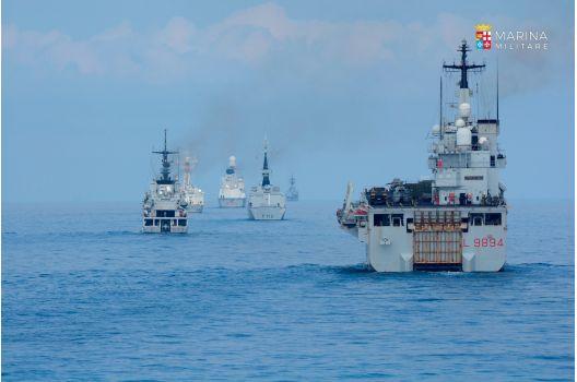 Marina Militare – Iniziata la Mare Aperto 2019
