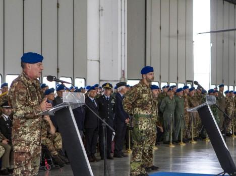 """Aviazione Esercito – Cambio al 3° Reggimento Elicotteri Operazioni Speciali """"ALDEBARAN"""""""