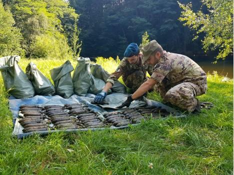 Marina Militare: oltre 50.000 gli ordigni esplosivi rimossi dai palombari del  COMSUBIN nel 2019.