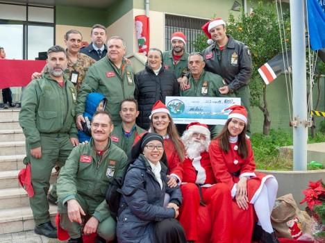 Aeronautica Militare: a Sigonella un mese di dicembre all'insegna della solidarietà