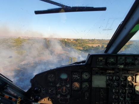 Aviazione Esercito – Campagna Antincendi Boschivi 2020: l'Aviazione dell'Esercito sempre in prima linea