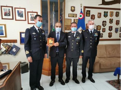 41° Stormo – Visita del Sottosegretario di Stato alla Difesa Giulio Calvisi alla realtà dell'Aeronautica Militare di Sigonella