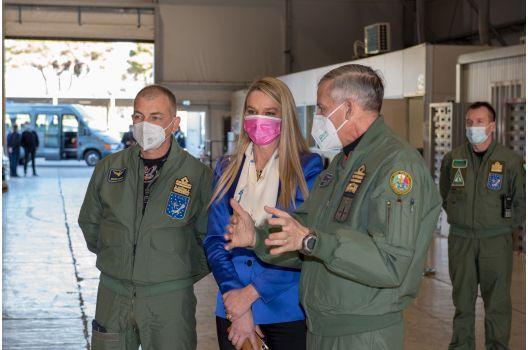 MINISTERO DELLA DIFESA – aeroporto militare di Pratica di Mare importante hub nazionale stoccaggio vaccini.
