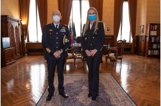 MINISTERO DELLA DIFESA -Sottosegretario Pucciarelli, l'Arma Azzurra in prima linea contro il COVID 19.