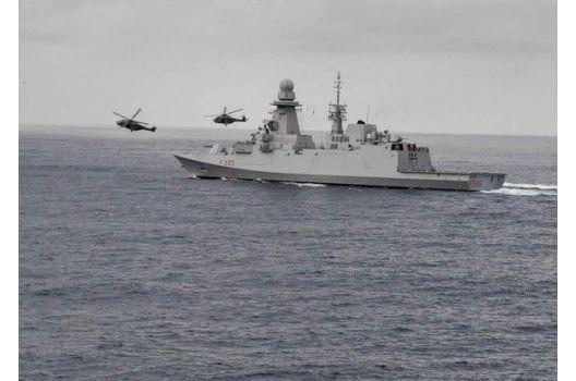 MINISTERO DELLA DIFESA – presenza Marina Militare nel Golfo di Guinea decisiva contro pirateria.