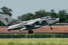Tornado Ids in decollo 154° Gruppo 6-34 M.M.7073
