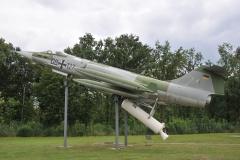 Lockheed F-104G Starfighter con il Rocket.