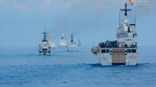 Formazione Navale in linea di fila