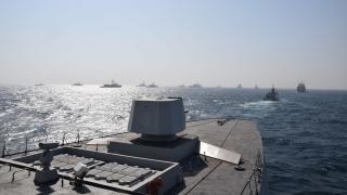 2^ giorno fase in mare - Formazione navale 2