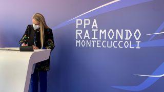 Il-Sottosegretario-alla-Difesa-Stefania-Pucciarelli
