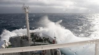 3 - HN17 - Nave Alliance, maltempo nel golfo di Biscaglia