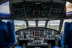 Il BR1150 Atlantic all'ultimo volo dalla base di Sigonella a Pratica di Mare.